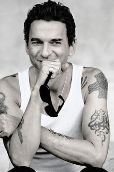 Dave Gahan- Beautiful!!!...I guess this is the only way I can get your attention, hi...