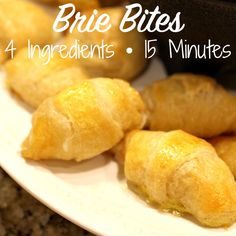 brie bites - super easy appetizer - great for New Year's Eve