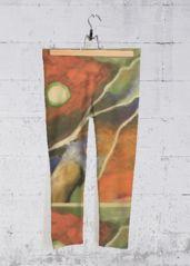 Dreams Capri Pants: What a beautiful product! Capri Leggings, Capri Pants, Yoga Pants, Embellishments, Original Artwork, Dreams, Prints, Painting, Beautiful
