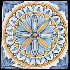 Ceramic -Mattonaccio tile - Demetra - | Touch of Sicily - Italy