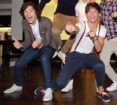 Louis Tomlinson+Harry Styles= Larry Stylinson