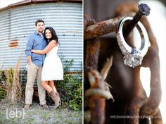 Eric Boneske Photography - Rustic Engagement Session