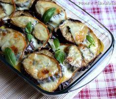 Tortino di melanzane e patate