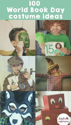 100 of the best World Book Day costume ideas 100 of the best World Book Day costume ideas,Escuela World Book Day costume ideas. Browse our gallery of 100 easy World Book Day costume ideas … with. Boys Book Character Costumes, Children's Book Characters Costumes, World Book Day Characters, Character Day Ideas, Book Characters Dress Up, Book Costumes, Storybook Characters, Costume Ideas, Halloween Costumes
