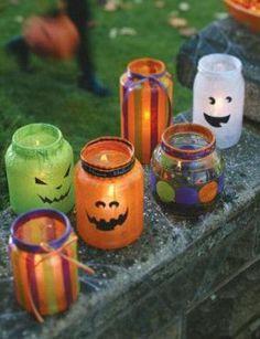 halloween decoração