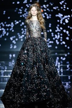 Zuhair Murad Sequin and Motifed Fall Collection 2015