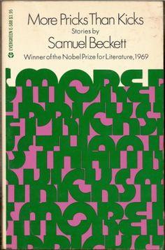 #samuel #beckett #more #pricks #than #kicks #book #cover