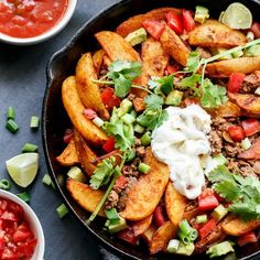 Smokey Mexican Beef Wedges! Tacos made better with Crispy Smokey Wedges!
