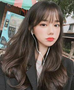 High Ponytail Hairstyles, Tomboy Hairstyles, Twist Braid Hairstyles, Cute Hairstyles For Short Hair, Fringe Hairstyles, Headband Hairstyles, Vintage Hairstyles, Girl Haircuts, Korean Hairstyle Medium Bangs