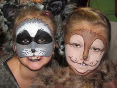 Raccoon for a Snow White play · Face Paint ...