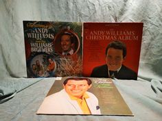 Andy Williams –Christmas Albums from 60s & 70s (Lot of 3 LP/Album) by DorenesXXOO on Etsy