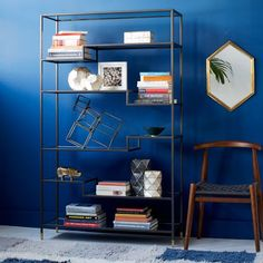 Tiered Tower Bookcase | West Elm $649.