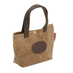 FR934 Waxed Canvas Lunch Tote