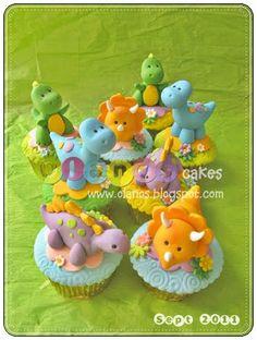 dinosaurs by Olanos cakes