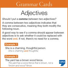 Use Crocheting In A Sentence : Do I need to use a comma between these two adjectives? Read this pin ...
