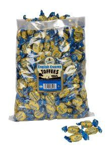 Walkers English Creamy Toffees, 5.5 Pound Bag