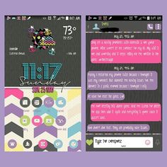 """""""Allow it"""" go launcher theme and matching go sms by @lousthemesandfonts my custom beweather and uccw are by @droidliciousdiva #droidliciousdiva #dutchcreativedesigns #gosms #teamandroid #beweather #uccw #teamnote3"""