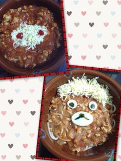 Mmmm it is weekend . So just make simple dinner, spaghetti ninja go and bear