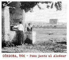 CÓRDOBA, 1906 - Pozo en las inmediaciones del Alcázar. Al fondo, Puente Romano y Calahorra. Painting, Water Well, Romans, Bridges, Antique Photos, Painting Art, Paintings, Painted Canvas, Drawings