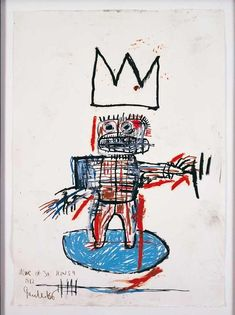 Jean-Michel Basquiat - Artist XXème - Underground Art - NeoExpressionism - Six Icons (from the series), 1982 Jean Basquiat, Jean Michel Basquiat Art, Basquiat Artist, Keith Haring, Robert Rauschenberg, Pablo Picasso, Andy Warhol, Radiant Child, Illustration Photo