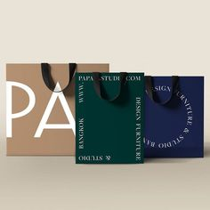 Beautiful brand identity for Papaya, an antique museum-like store in Thailand. Branding And Packaging, Packaging Design, Bag Packaging, Brand Identity Design, Branding Design, Identity Branding, Corporate Branding, Luxury Branding, Museum Branding