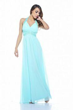 Jewel Halter Neck Maxi Dress this is beautiful