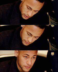 Ney while signing ❤ #neymar #neymarjr #neymarzete #barcelona #brazilianguy #brazilianplayer #love #uniquelove #artwork #neymarart #neymarwallpaper #wallpaper #nike #nikefootball #golazo #gol #instagood #crying #eyes #greeneyes #instafollow #followme #followus @neymarjr
