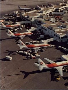 Frontier Airlines Boeing 737-291s at the carrier's Denver-Stapleton hub, circa 1980s. The airline was acquired by People Express in 1985 and declared bankruptcy the following year, before being absorbed along with many other smaller carriers, into Continental Airlines in 1987. (Image: Frontier Airlines)