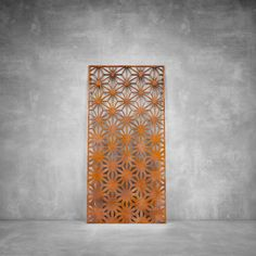 Precision laser cut architectural screens are ideal for decorative interior divider panels, external architectural cladding. Shop from us now! Decor, Dream Decor, Outdoor Screens, Room Divider Screen, Home Decor Lights, Divider Screen, Steel Design, Lasercut Design, Lighting Design Interior