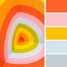 Bright + Bold Color Palettes for Your Brand — Alyson Agemy Retro Color Palette, Color Schemes Colour Palettes, Colour Pallette, Summer Color Palettes, Orange Color Palettes, Bright Color Schemes, Rgb Palette, Palette Design, Pink Palette