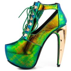 Delores - Green Privileged $99.99 crazyyyy but I d wear them