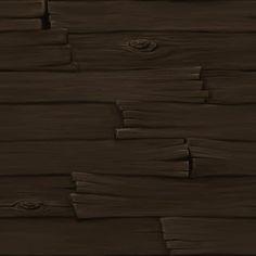 Lighting and Texture Matt Carranza - Hand Painted Wood Painted Wood Texture, Dark Wood Texture, Hand Painted Textures, 3d Texture, Tiles Texture, Texture Drawing, Texture Mapping, Texture Painting, Paint Texture
