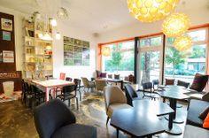 COFFEE_INN cafe in Druskininkai | interior design by Dalia Mauricaite & Nauris Kalinauskas