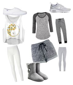 """""""Untitled #41"""" by brooklyen on Polyvore featuring maurices, Madewell, NIKE, Rick Owens Lilies and UGG Australia"""