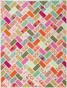 Jambalaya quilt pattern by Dear Stella