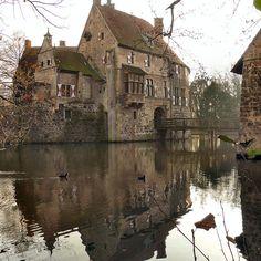Vischering Castle. Luedinghausen, Germany