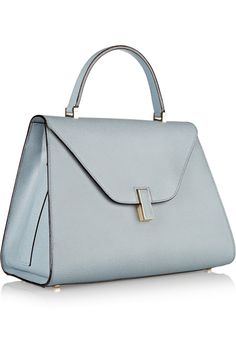 Valextra|Textured-leather tote|NET-A-PORTER.COM