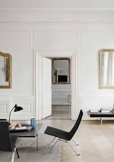 Soft, white interior | #caserio