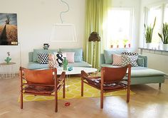 Apartamento com decoração clean