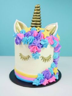 unicorn cake how to