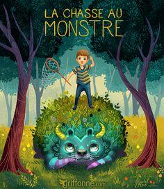 La chasse au monstre by joanniegoulet.deviantart.com on @DeviantArt