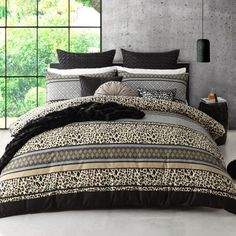 Spotlight stocks a huge range of quilt covers and quilt cover sets for king, queen, and single size beds! Transform the look of your bedroom today. Single Size Bed, Quilt Cover Sets, Linen Bedding, Comforters, King, Queen, Quilts, Blanket, Bedroom