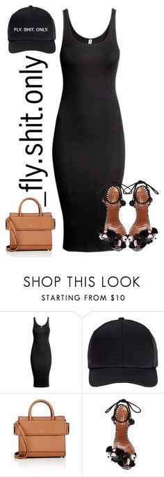 """""""Untitled #2429"""" by flyyshitonly ❤ liked on Polyvore featuring H&M, Miss Selfridge, Givenchy and Aquazzura"""