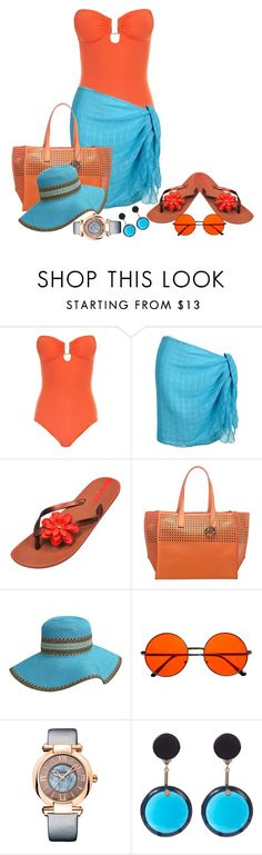 """""""bright day"""" by nutgirl ❤ liked on Polyvore featuring Melissa Odabash, IPANEMA, Emilie M, Chopard and Marni"""