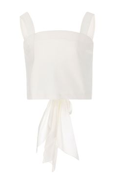 M'O Exclusive Santa Cruz Back Bow Top by JOHANNA ORTIZ Now Available on Moda Operandi