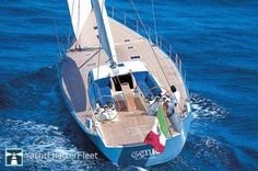S/Y Genie Length 78.74ft /24m Builder Maxi Dolphin Exterior Designer German Frers #yacht #yachts #boat #boats #motoryacht #motoryachts #powerboat #powerboats #sail #sailing #luxury www.tommyholiday.it