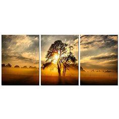 Framed world map vintage retro large canvas art prints picture framed sunrise landscape tree nature canvas picture prints wall home decor new arthome gumiabroncs Gallery