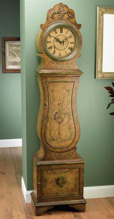 OLD ORCHARD GRANDFATHER CLOCK SHELF