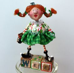 Colleen the WEE Leprechaun  Whimsical doll
