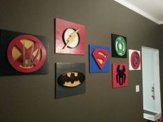 What an awesome idea for those of us who love Superheroes!